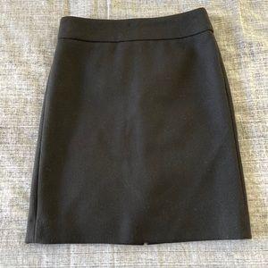J Crew 100% Wool Knee Length Skirt